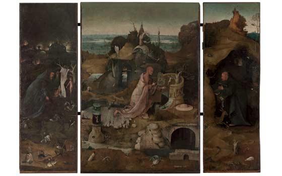 Het Heremieten drieluik Ca. (1490-1499)