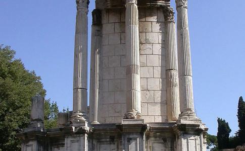 tempio di vesta roma