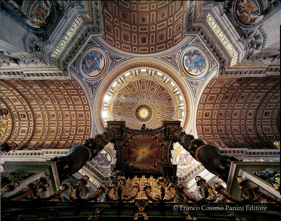 Cupola di San Pietro (interno)
