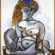 Picasso_Nudoconberrettoturco_1955