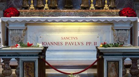 Tomba Papa Giovanni Paolo II