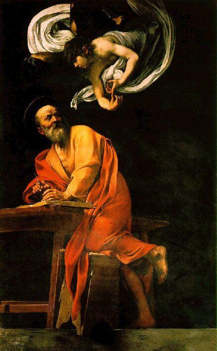 L'ispirazione di San Matteo (Caravaggio)