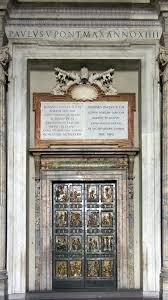 Porta Santa Basilica di San Pietro