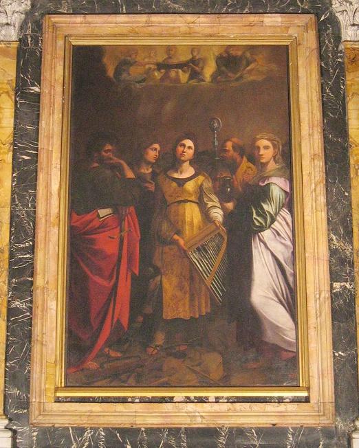 Santa Cecilia con quattro santi (Guido Reni)