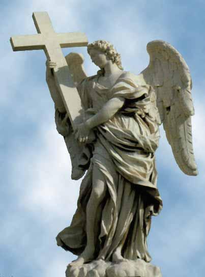 Angelo con la croce
