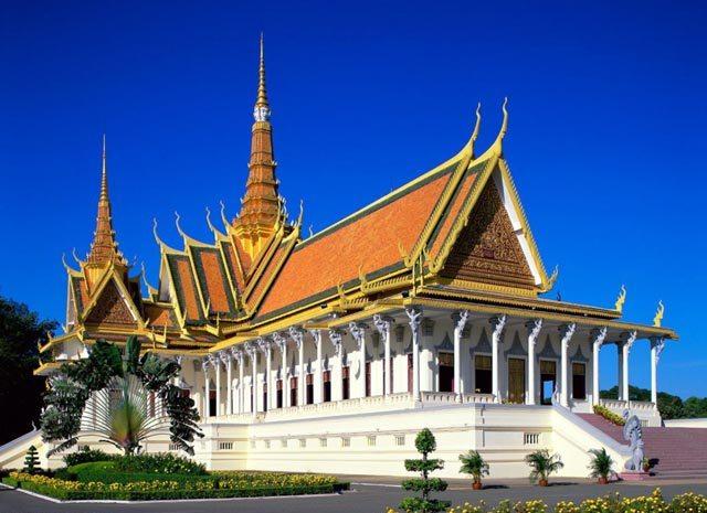 Cambogia, Phnom Pehn, Pagoda