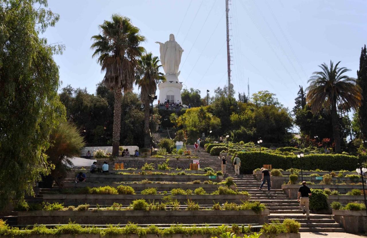 Parco del Cerro San Cristobal (Santiago del Cile)