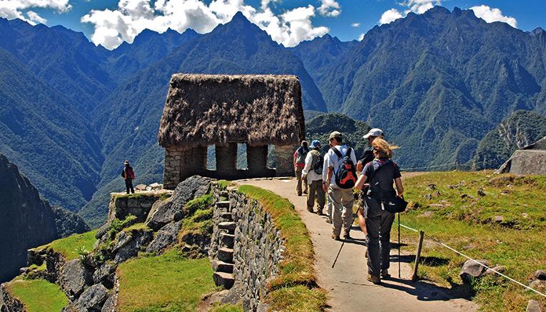 Sentiero in montagna (Perù)
