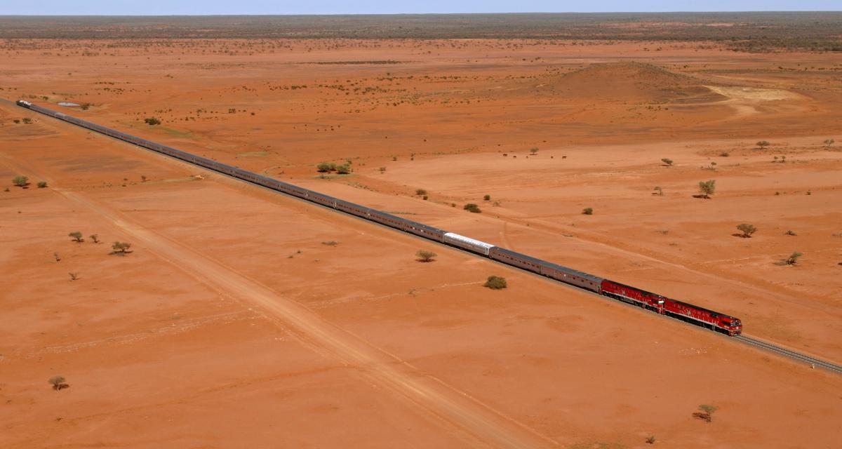 Treno Ghan (Australia)