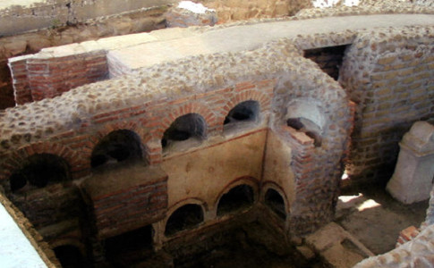sepolcreto via ostiense roma