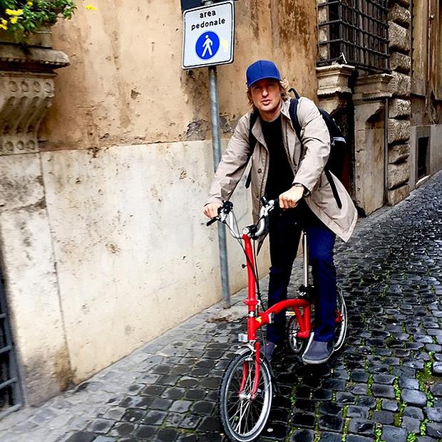 Owen Wilson a Roma