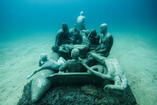 La zattera di Lampedusa