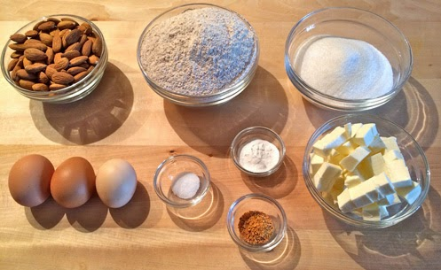 Ingredienti cantucci