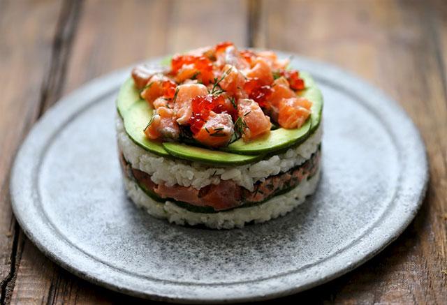 E Sushi Cake Mania La Frontiera Occidentale Della Cucina Giapponese