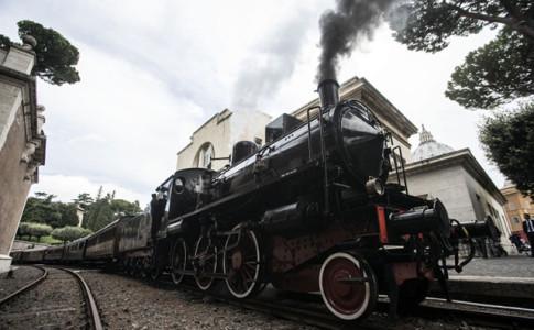 treno del papa