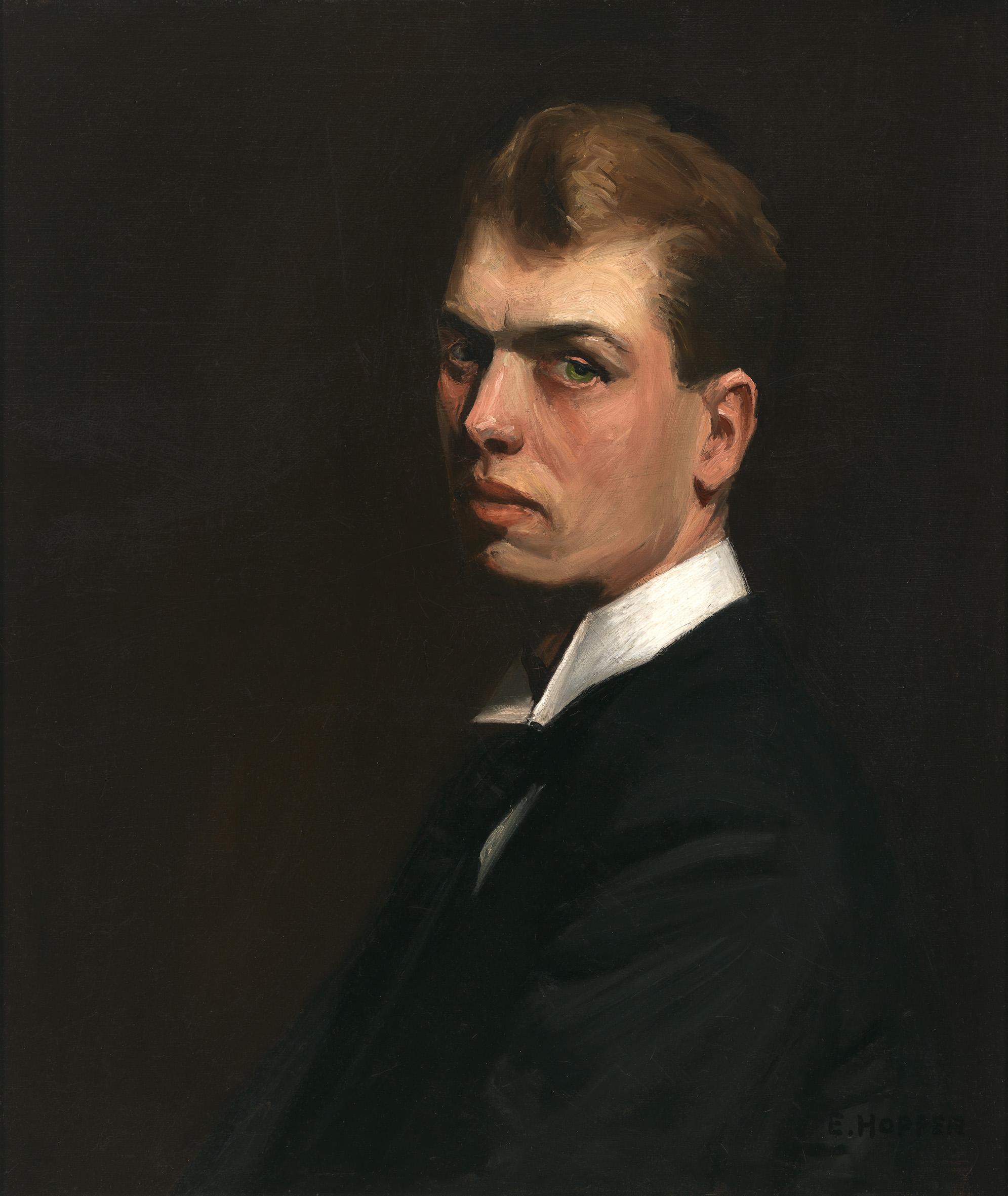 Edward Hopper (1882 1967) Self Portrait 1903 1906