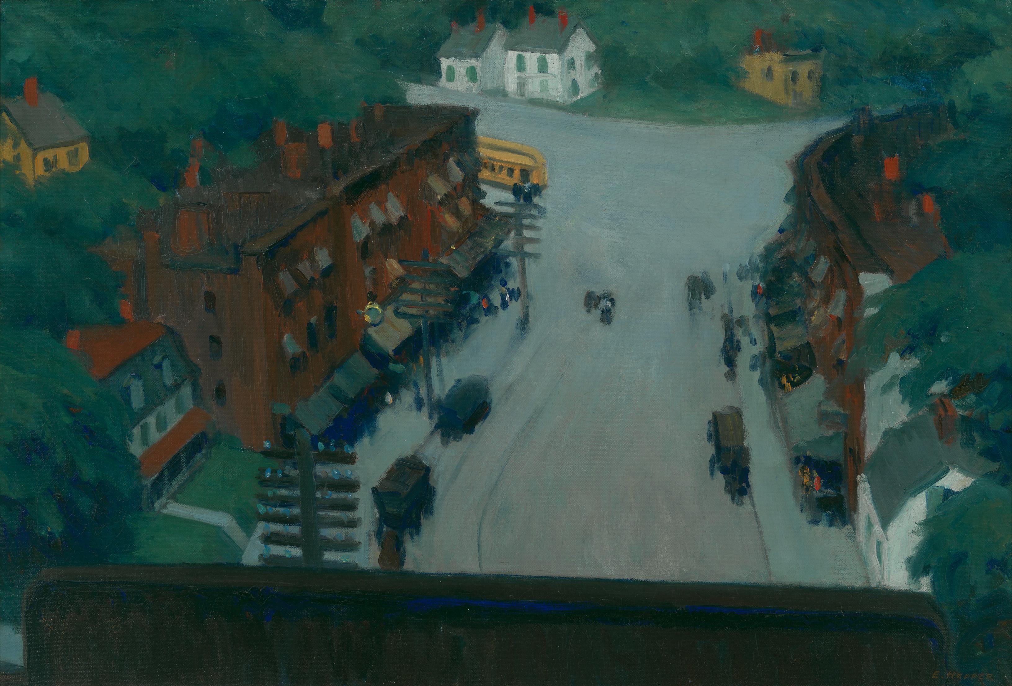 Edward Hopper (1882 1967) American Village 1912