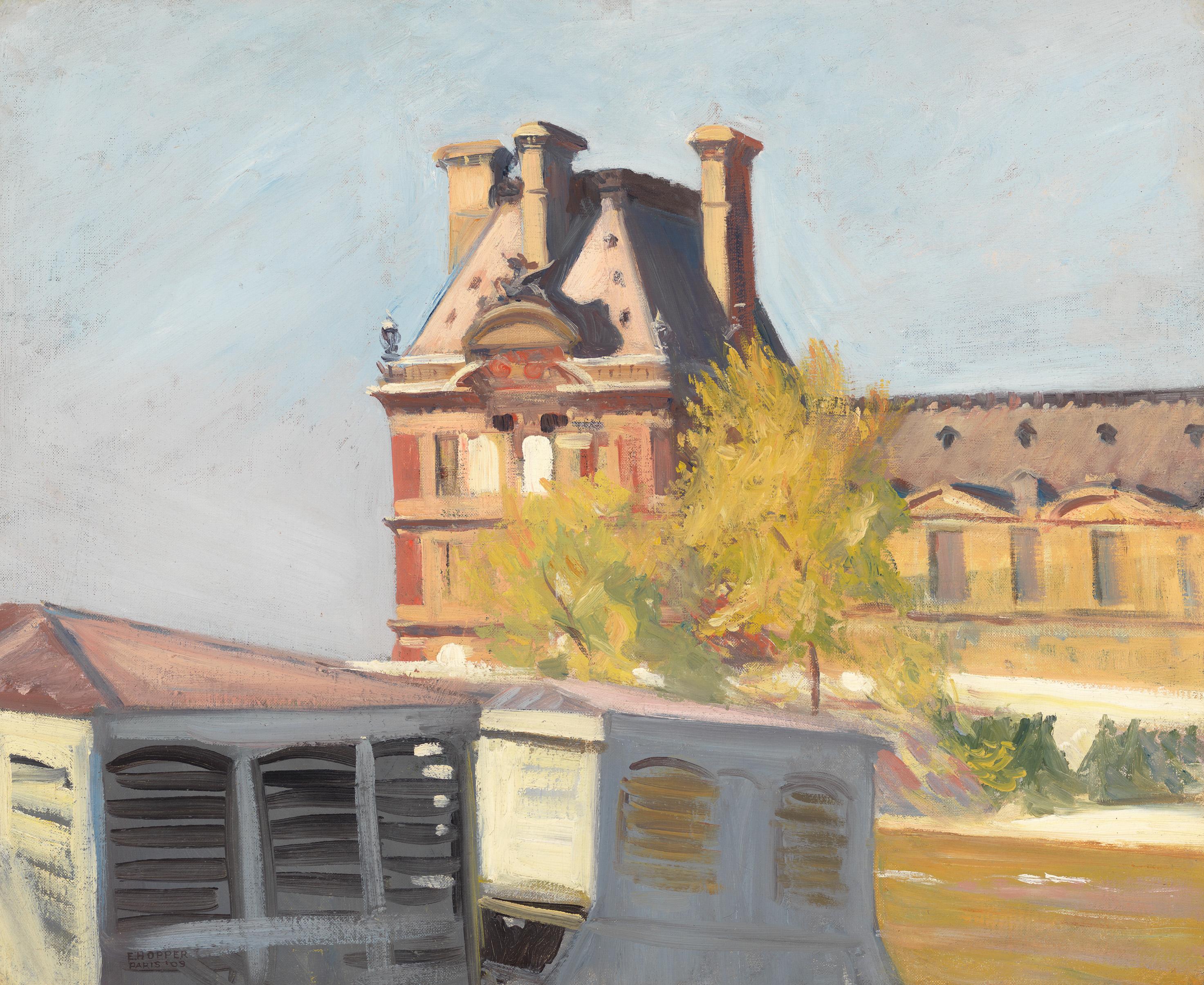 Edward Hopper (1882 1967) Le Pavillon de Flore 1909