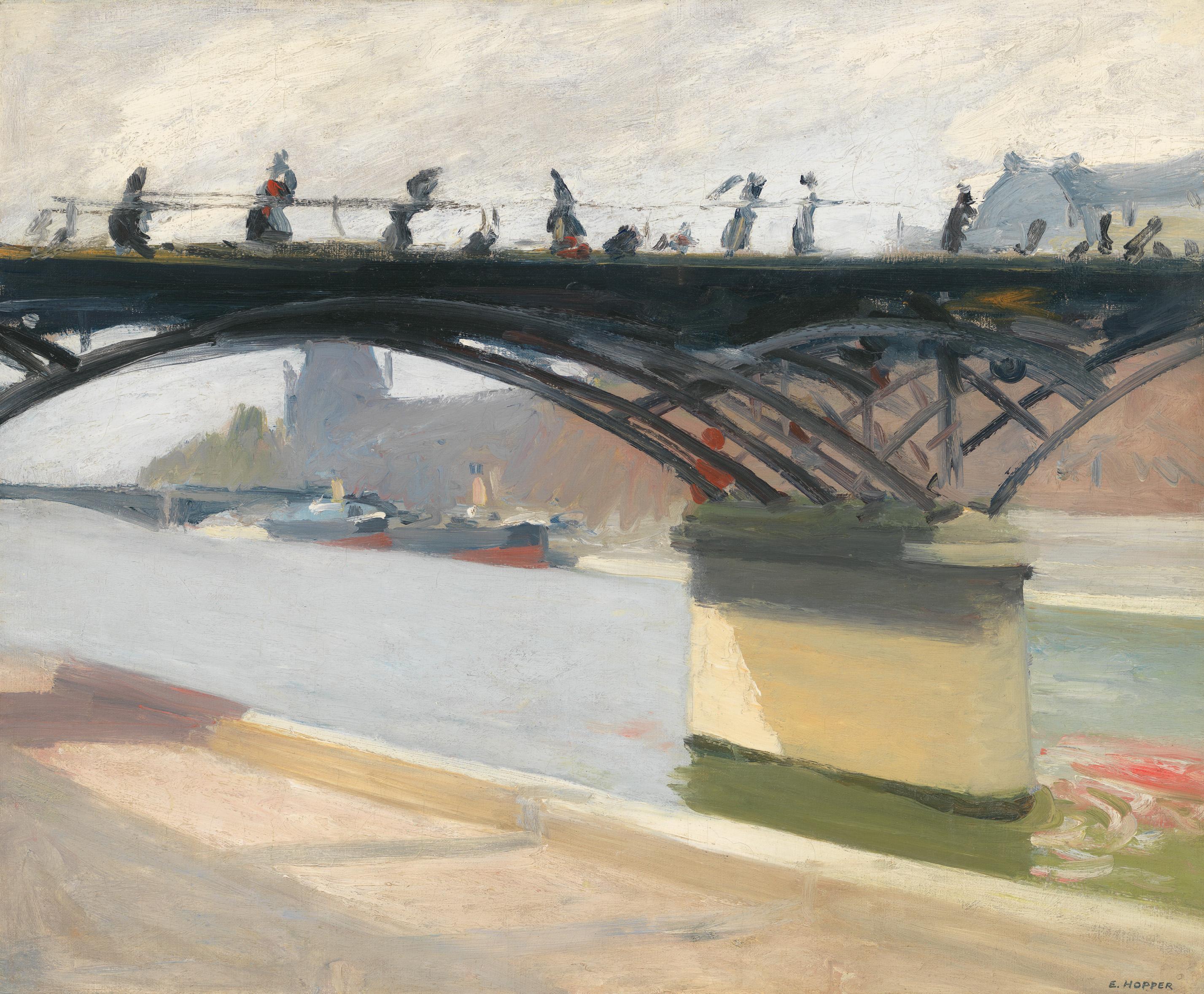 Edward Hopper (1882 1967) Le Pont des Arts 1907
