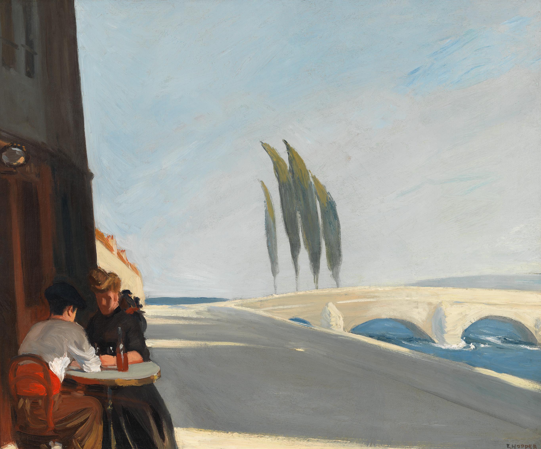 Edward Hopper (1882 1967) Le Bistro or The Wine Shop 1909