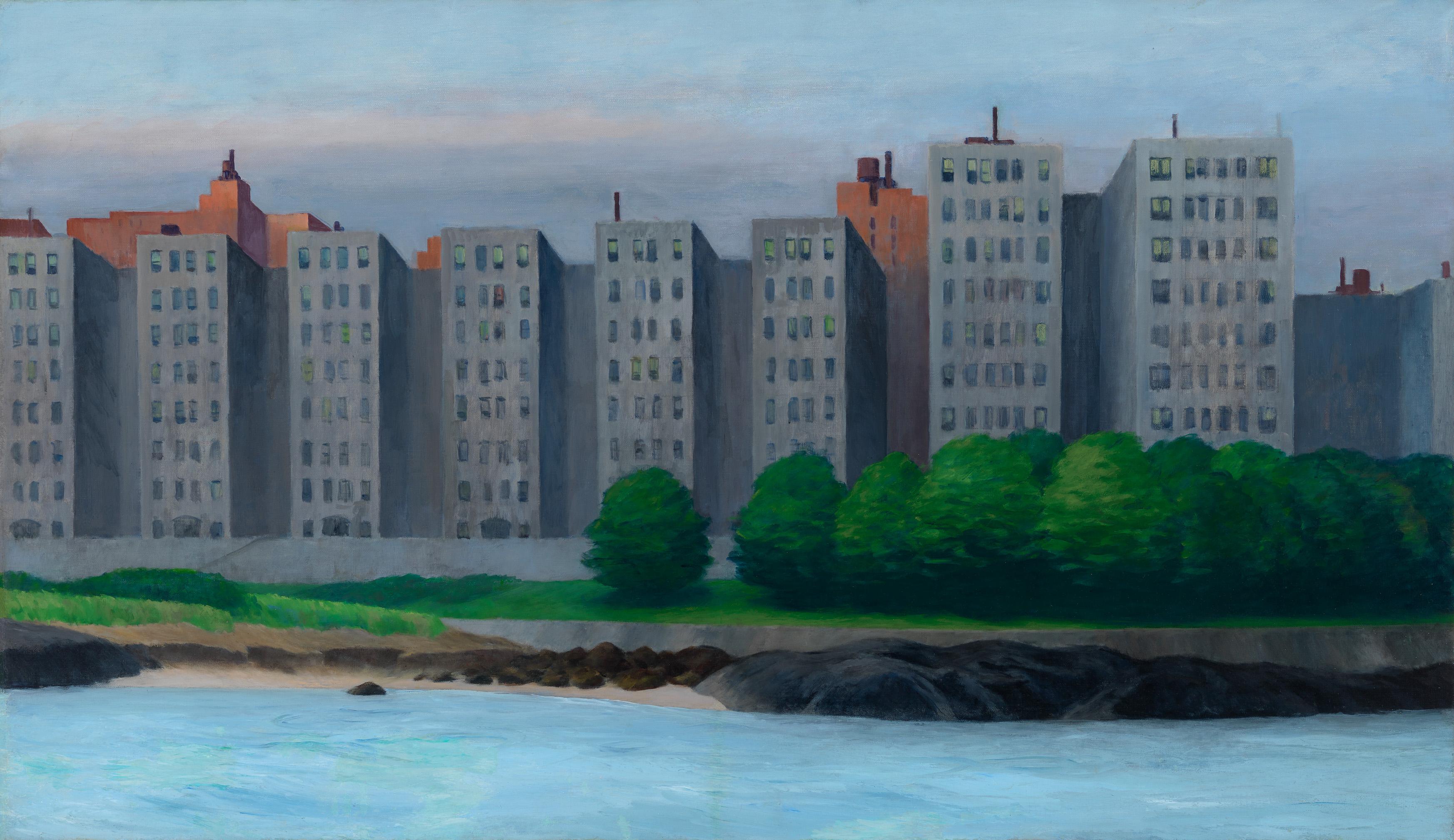 Edward Hopper (1882 1967) Apartment Houses, East River c. 1930