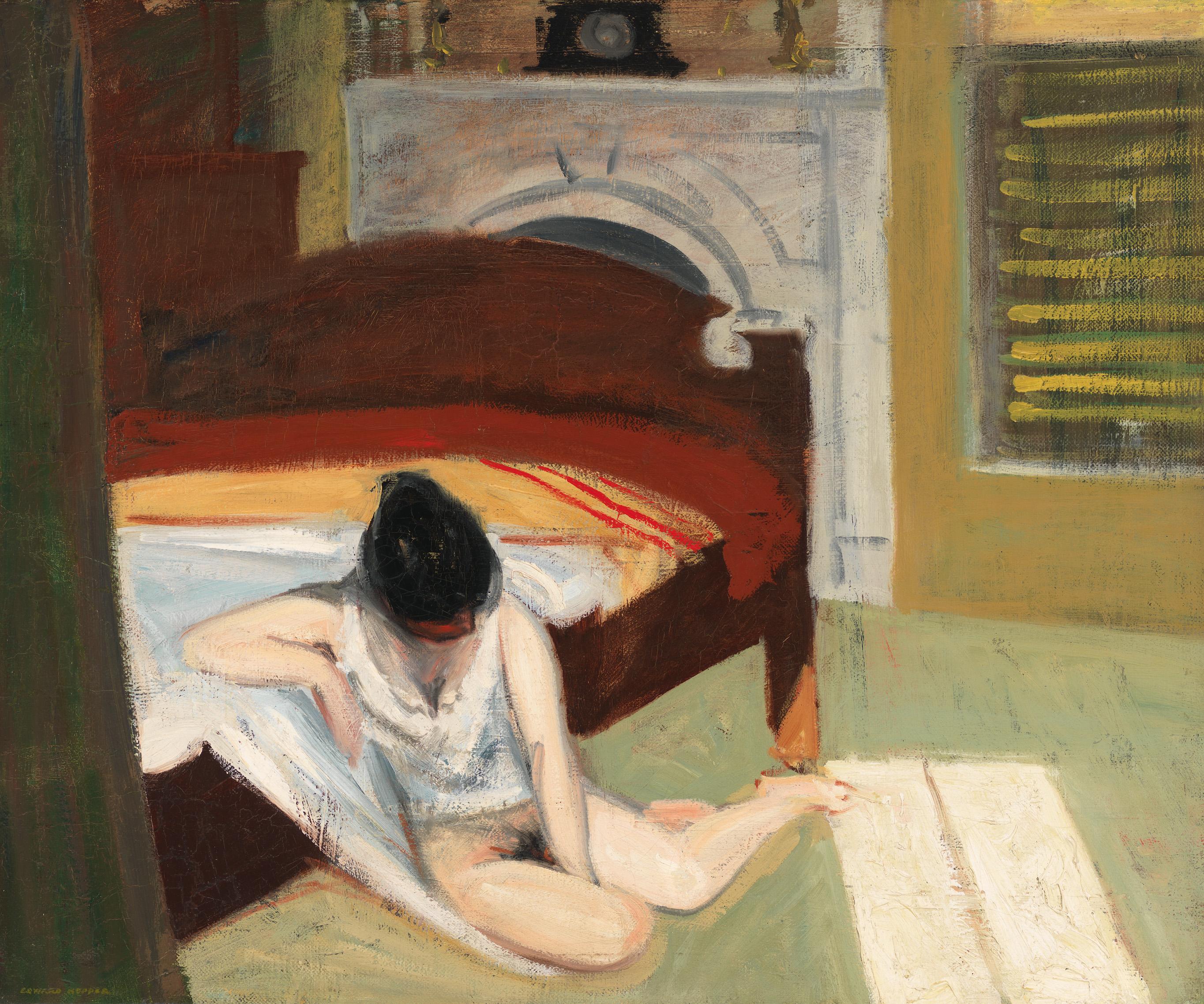 Edward Hopper (1882 1967) Summer Interior 1909