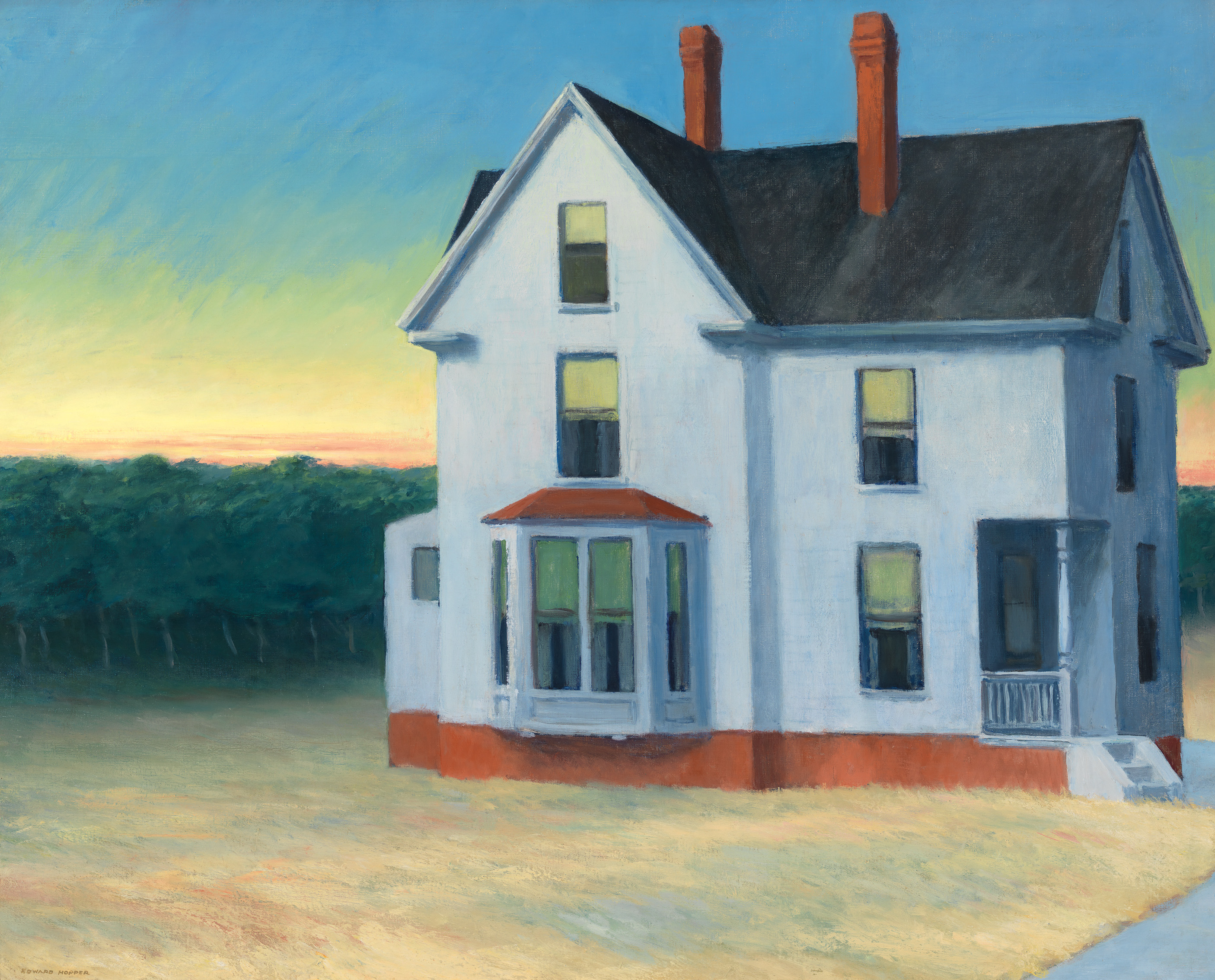 Edward Hopper (1882 1967) Cape Cod Sunset 1934