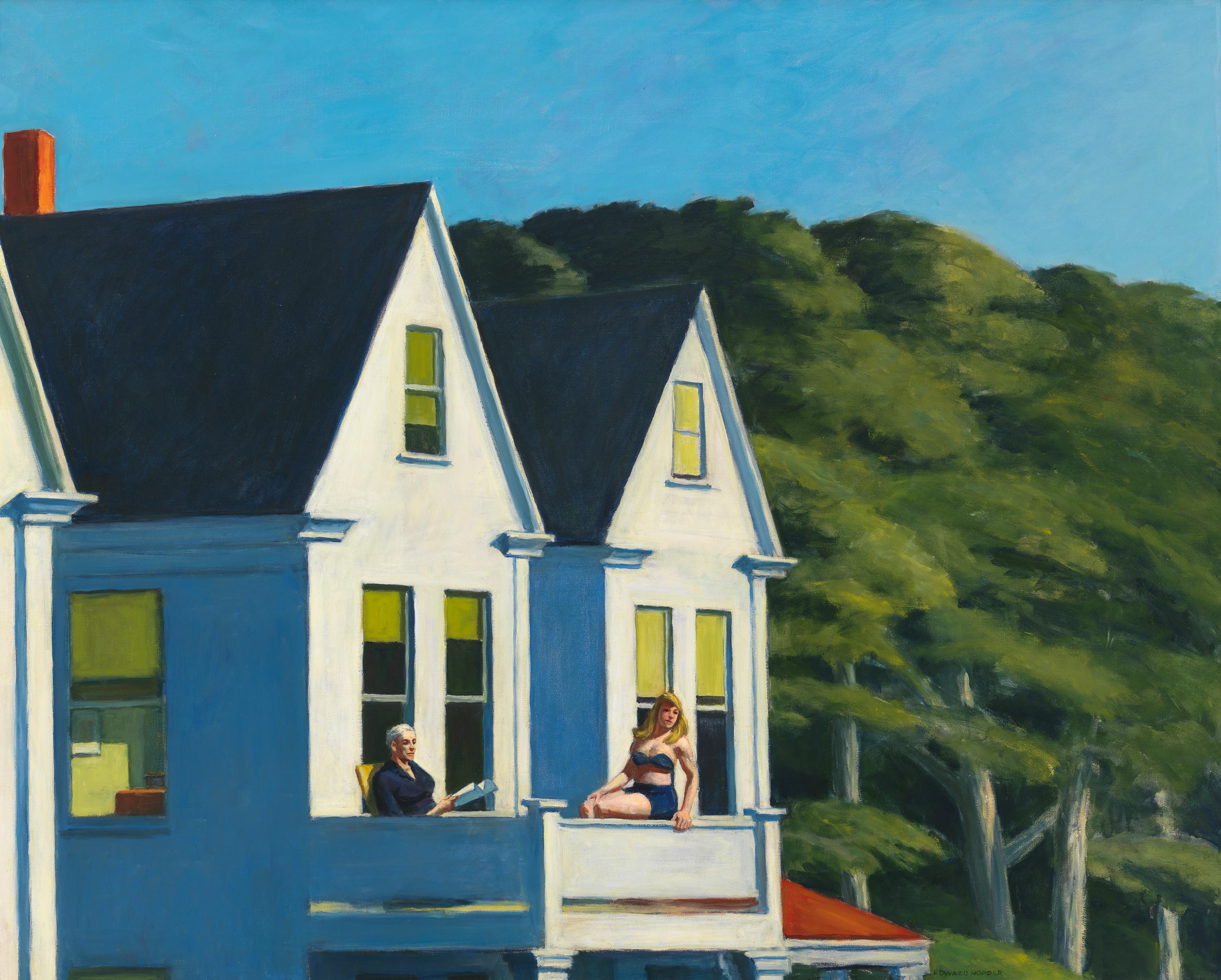 Edward Hopper (1882 1967) Second Story Sunlight 1960