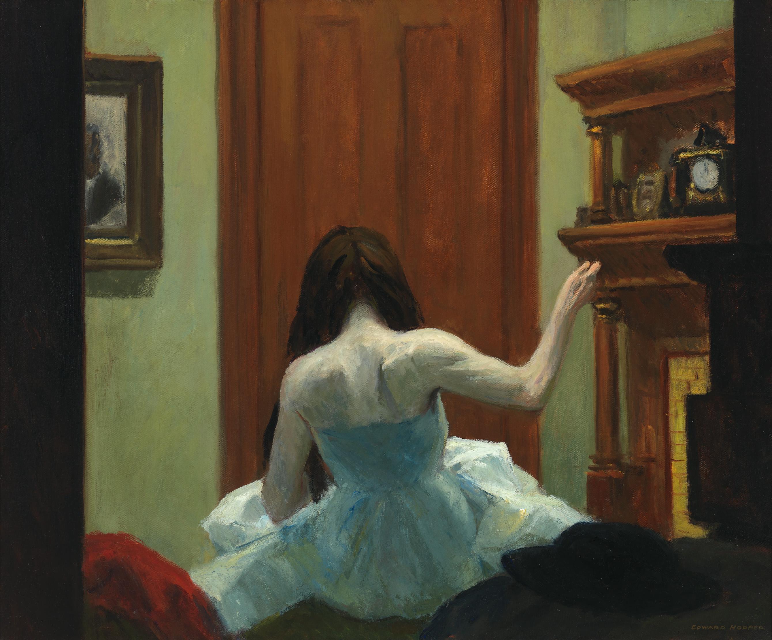 Edward Hopper (1882 1967) New York Interior c. 1921