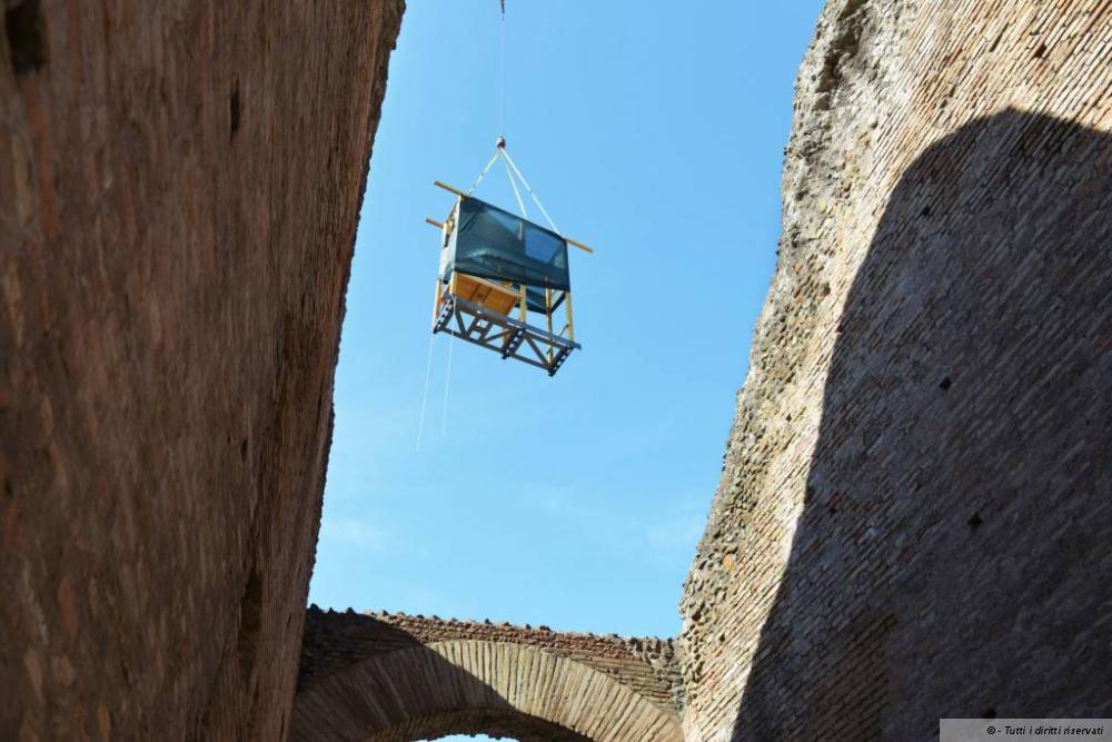 2014.05.08 L'arrivo al Colosseo ©VirginiaSedia