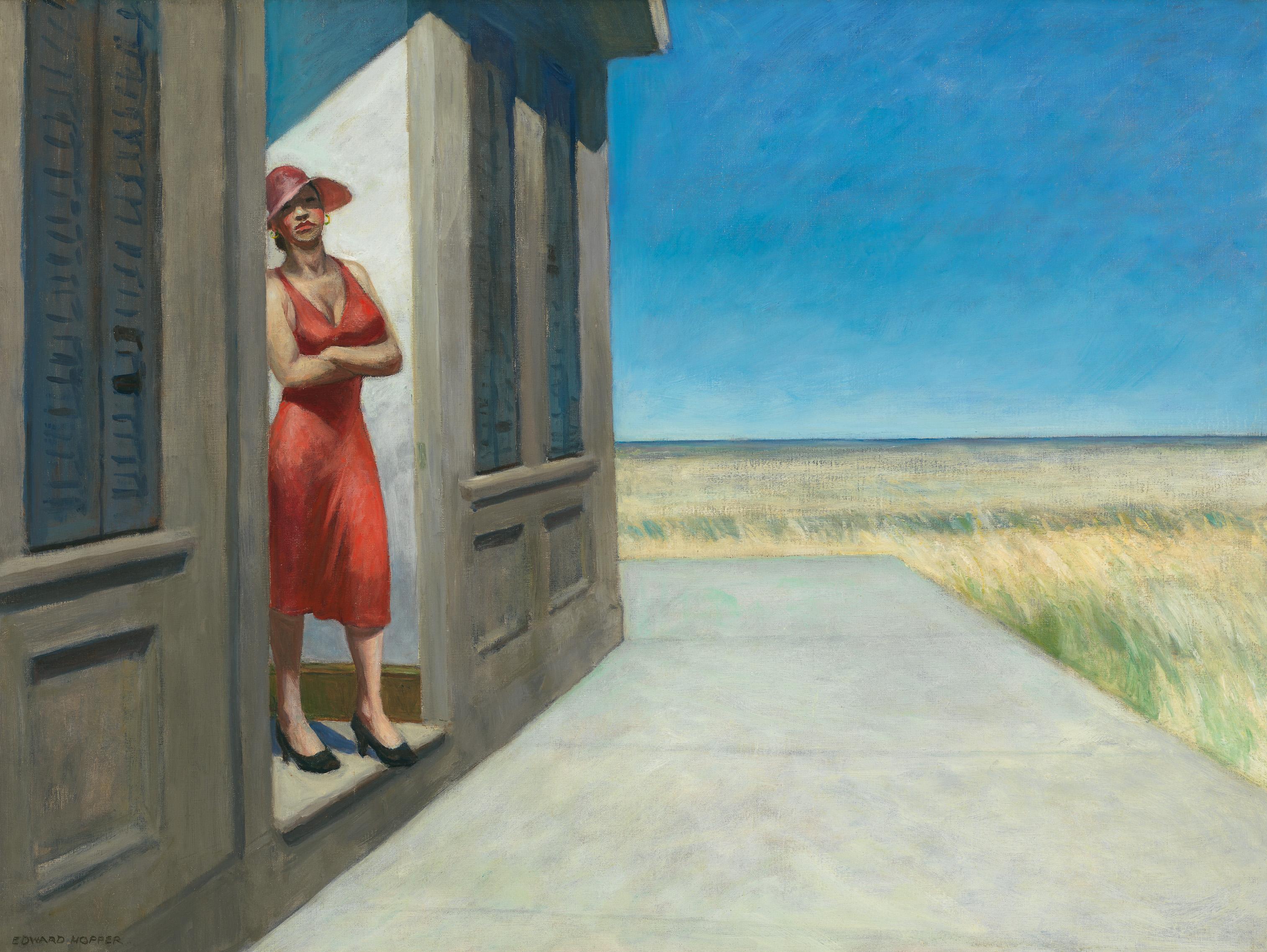 Edward Hopper (1882 1967) South Carolina Morning 1955