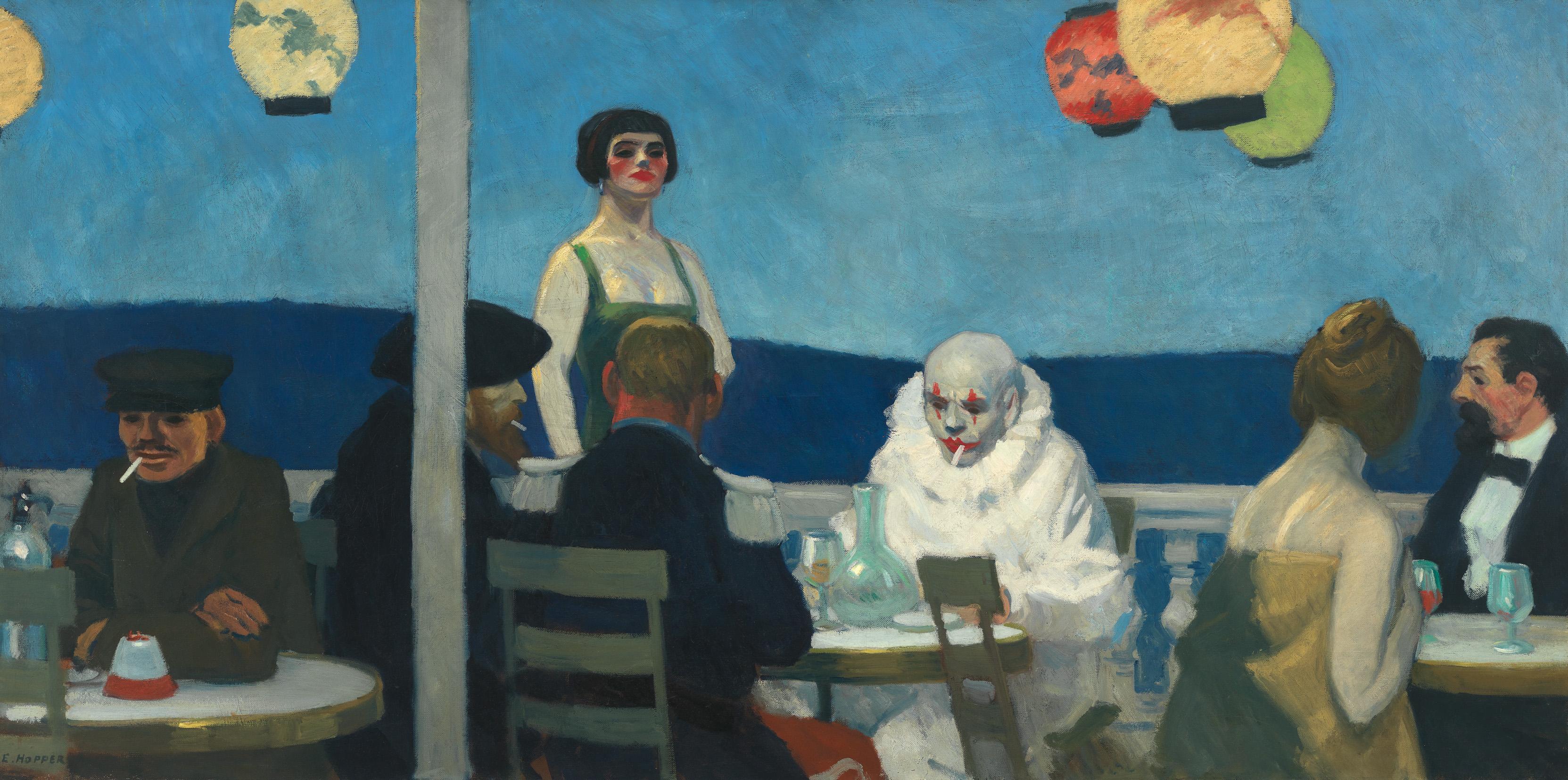 Edward Hopper (1882 1967) Soir Bleu 1914