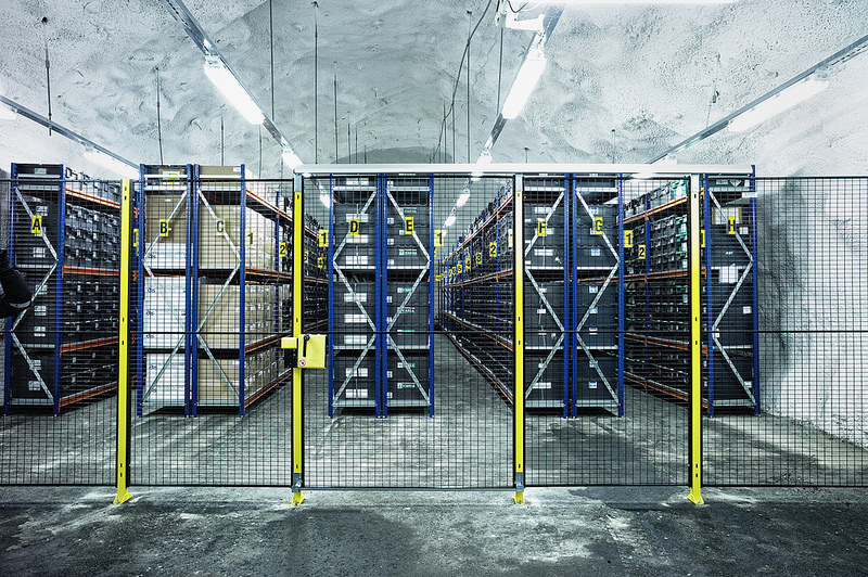 Deposito Svalbard Global Seed Vault