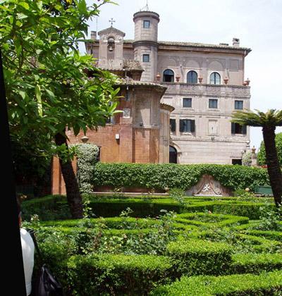 Giardino Villa del Priorato di Malta