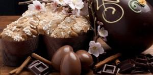 Uova e colomba Pasqua