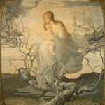 Giovanni Segantini, L'angelo della vita, 1894 olio su tela, 276 × 212 cm Milano, Galleria d'Arte Moderna