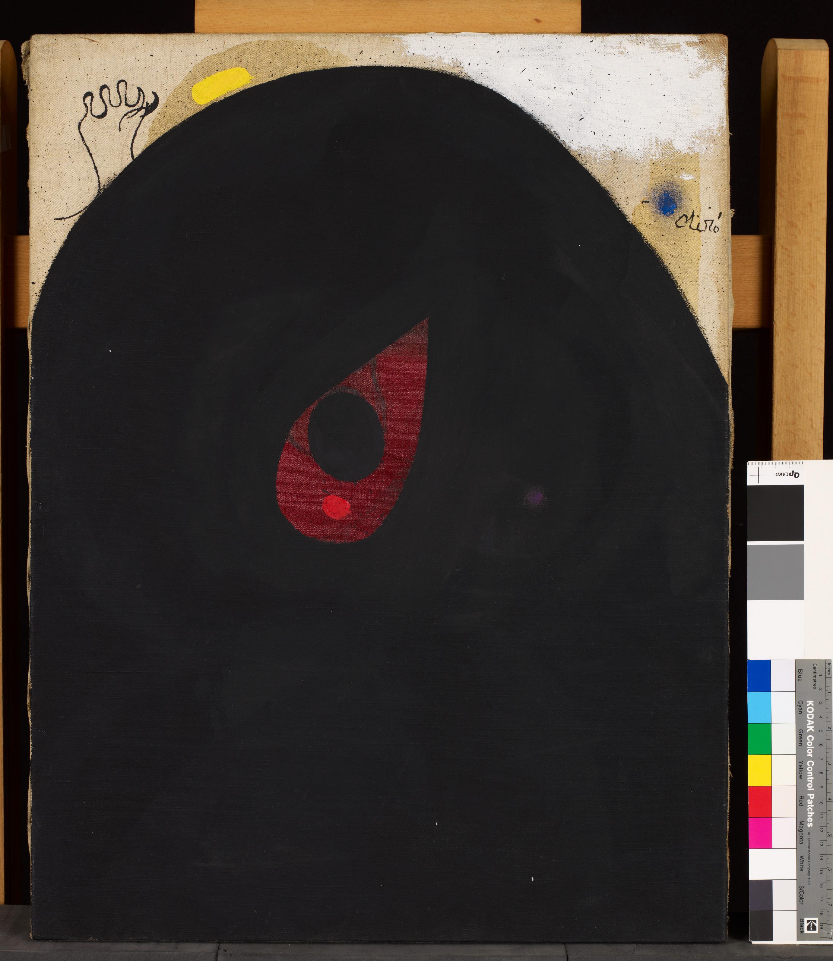 Testa, 1940/1974 Pittura acrilica su tela