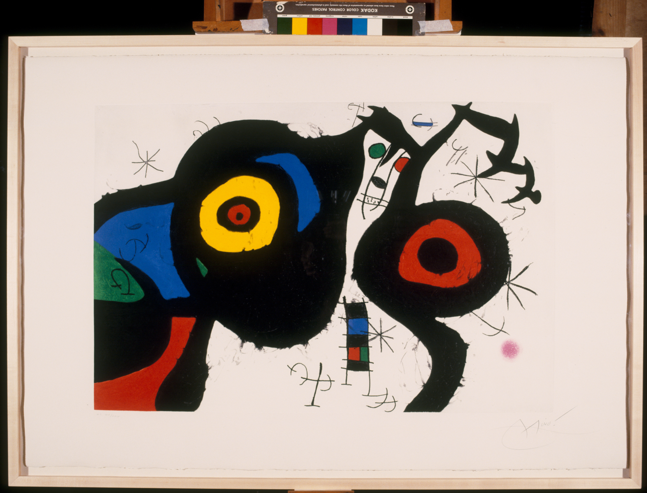 Joan Miró I due amici, 1969 Acquaforte, acquatinta e carburo di silicio