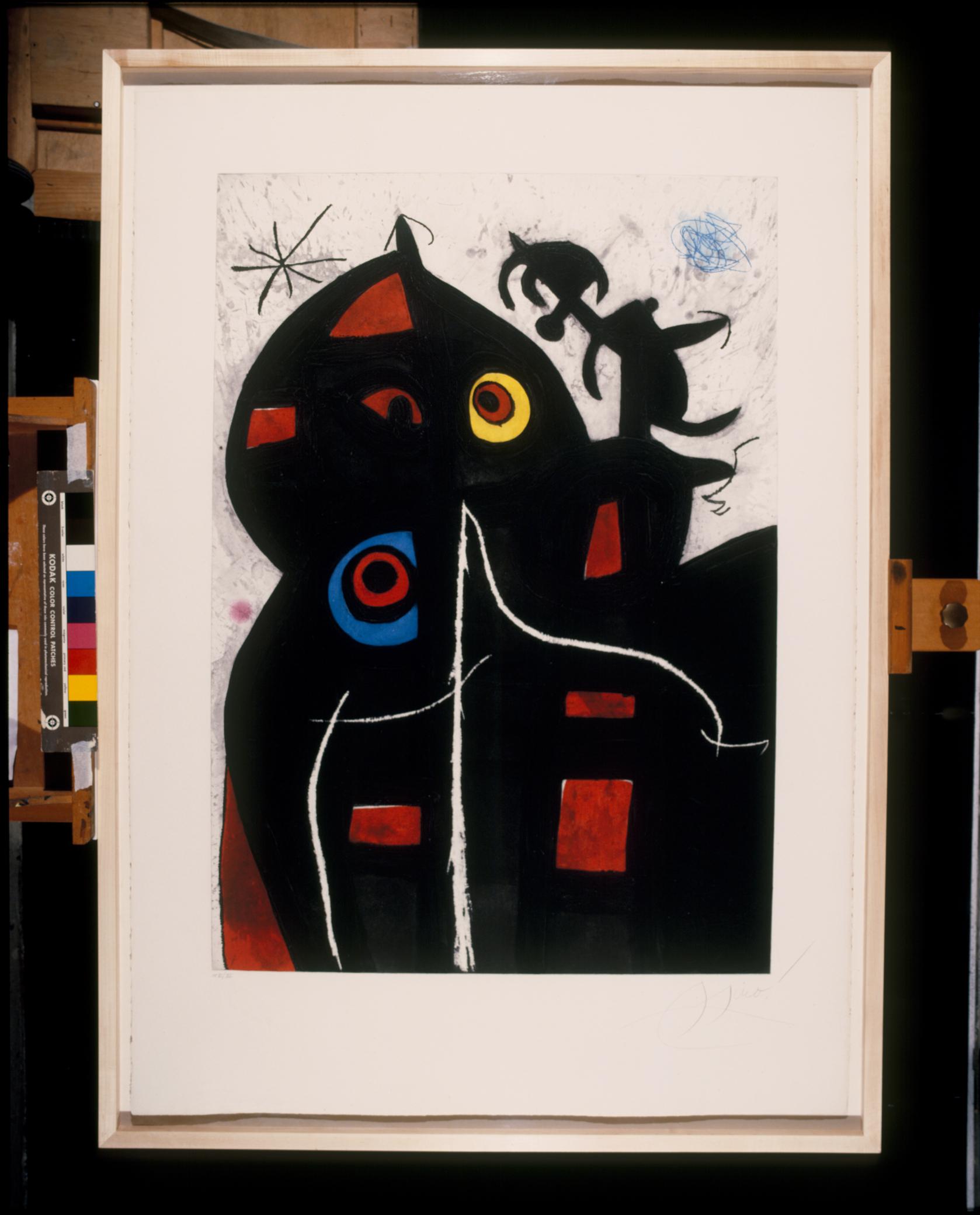 Joan Miró Pantagruel, 1978 Acquaforte, acquatinta, carburo di silicio e raschiatura