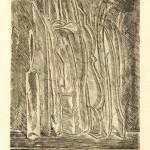 Giorgio Morandi, Natura morta con bottiglie e brocca, acquaforte, 1915 (Tip. 30950)