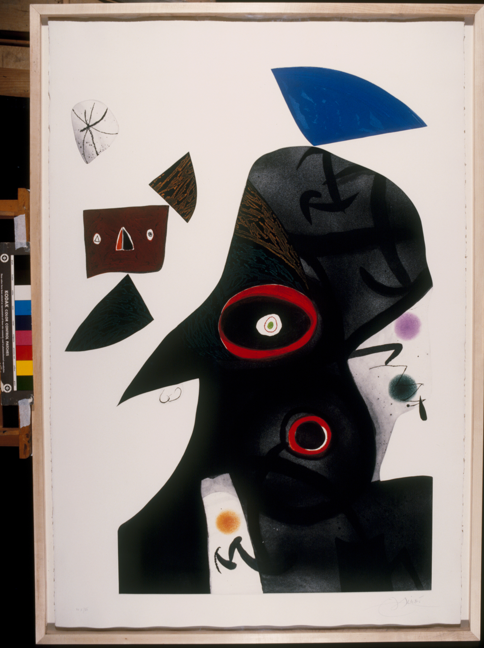 Joan Miró L'egiziana, 1977 Acquaforte, acquatinta e carburo di silicio