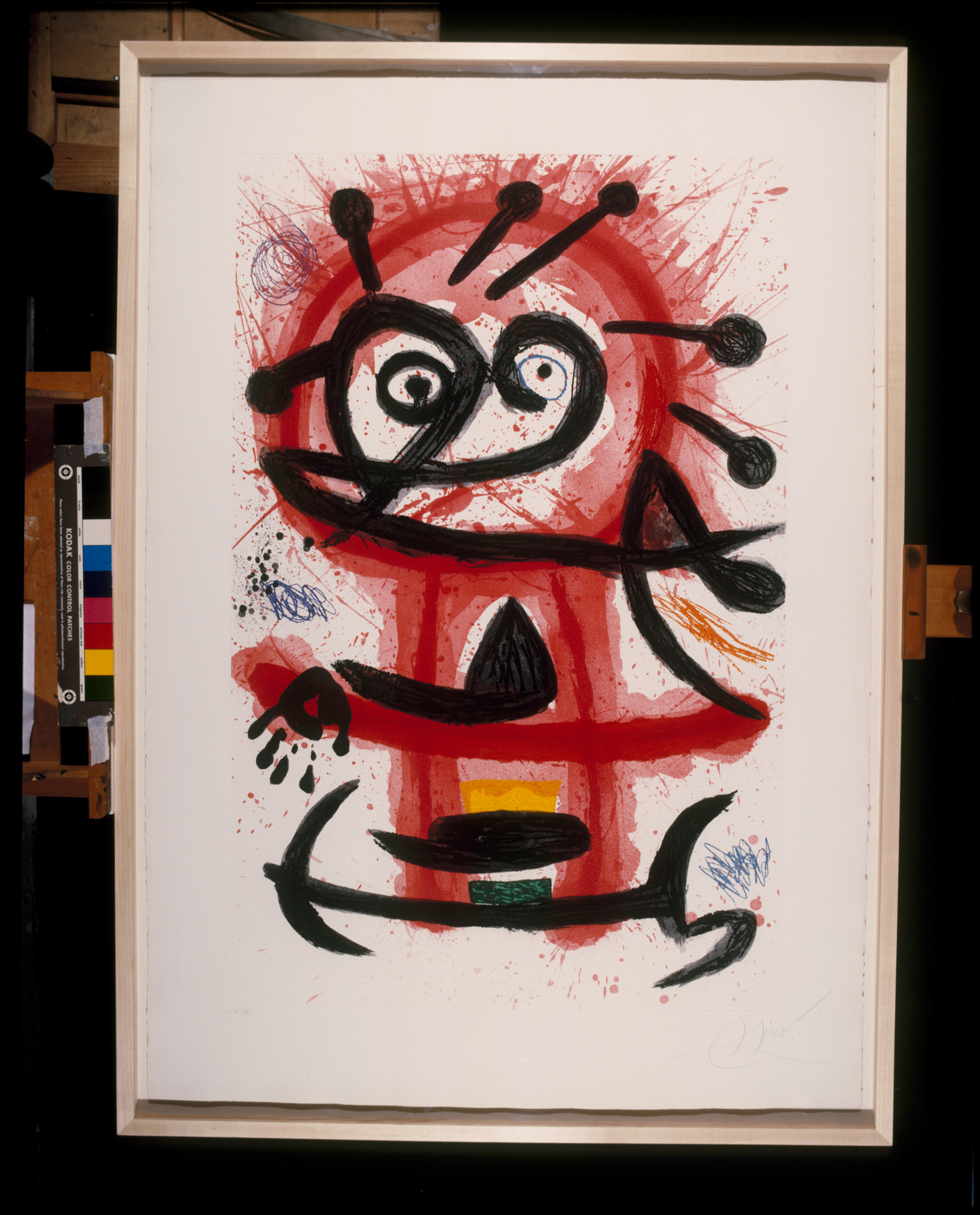 Joan Miró Mambo, 1978 Acquaforte e acquatinta
