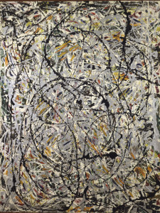 Jackson Pollock (Cody 1912- East Hampton 1956) Sentieri ondulati (Watery Paths), 1947