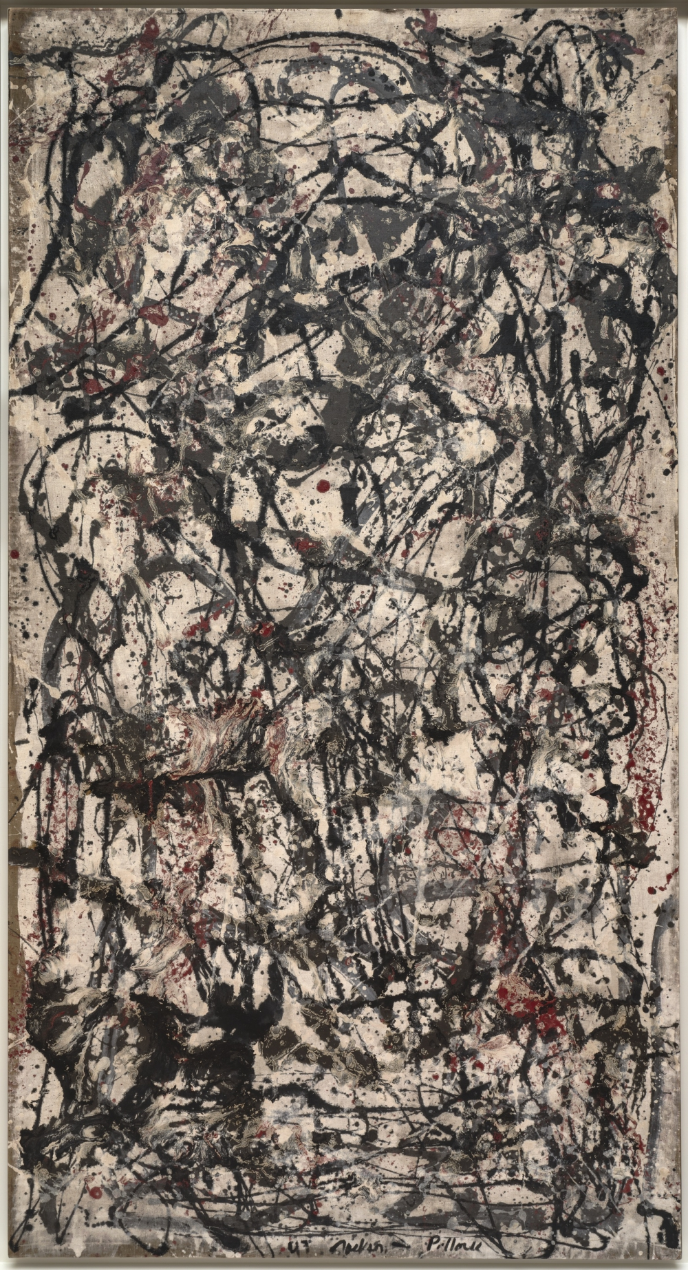 Jackson Pollock (Cody 1912- East Hampton 1956) Foresta incantata (Enchanted Forest), 1947