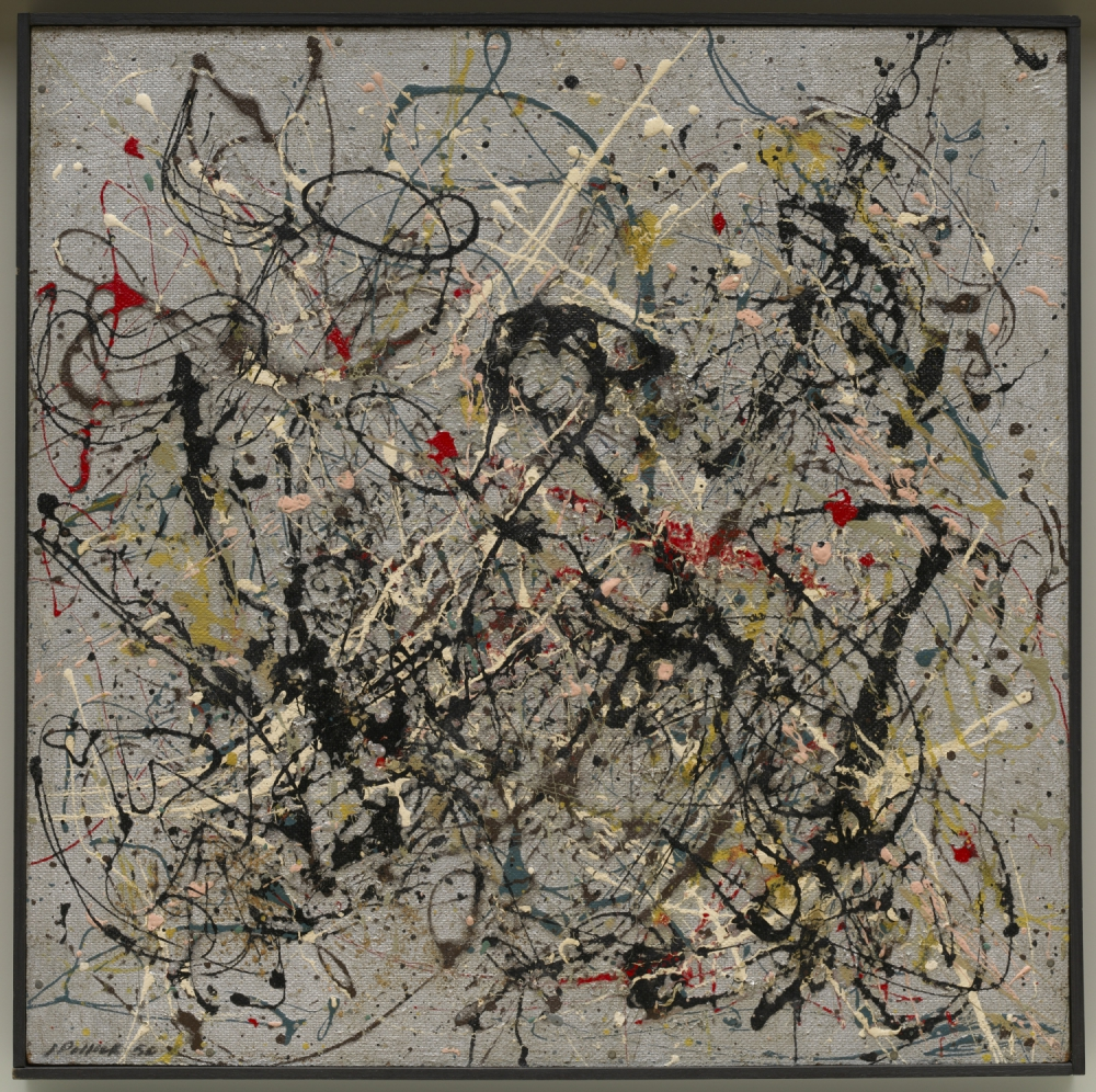 Jackson Pollock (Cody 1912- East Hampton 1956) Numero 18 (Number 18), 1950