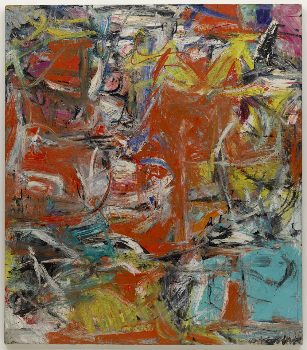 Willem de Kooning (Rotterdam 1904-East Hampton 1997), Composition, 1955