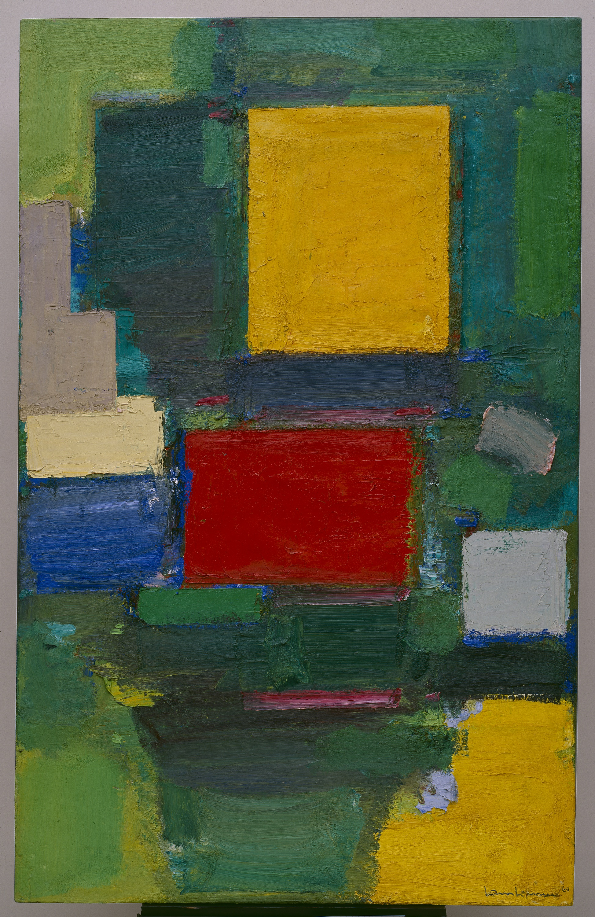 Hans Hofmann (Weissenberg 1880-New York 1966) Il cancello (The Gate), 1959-1960