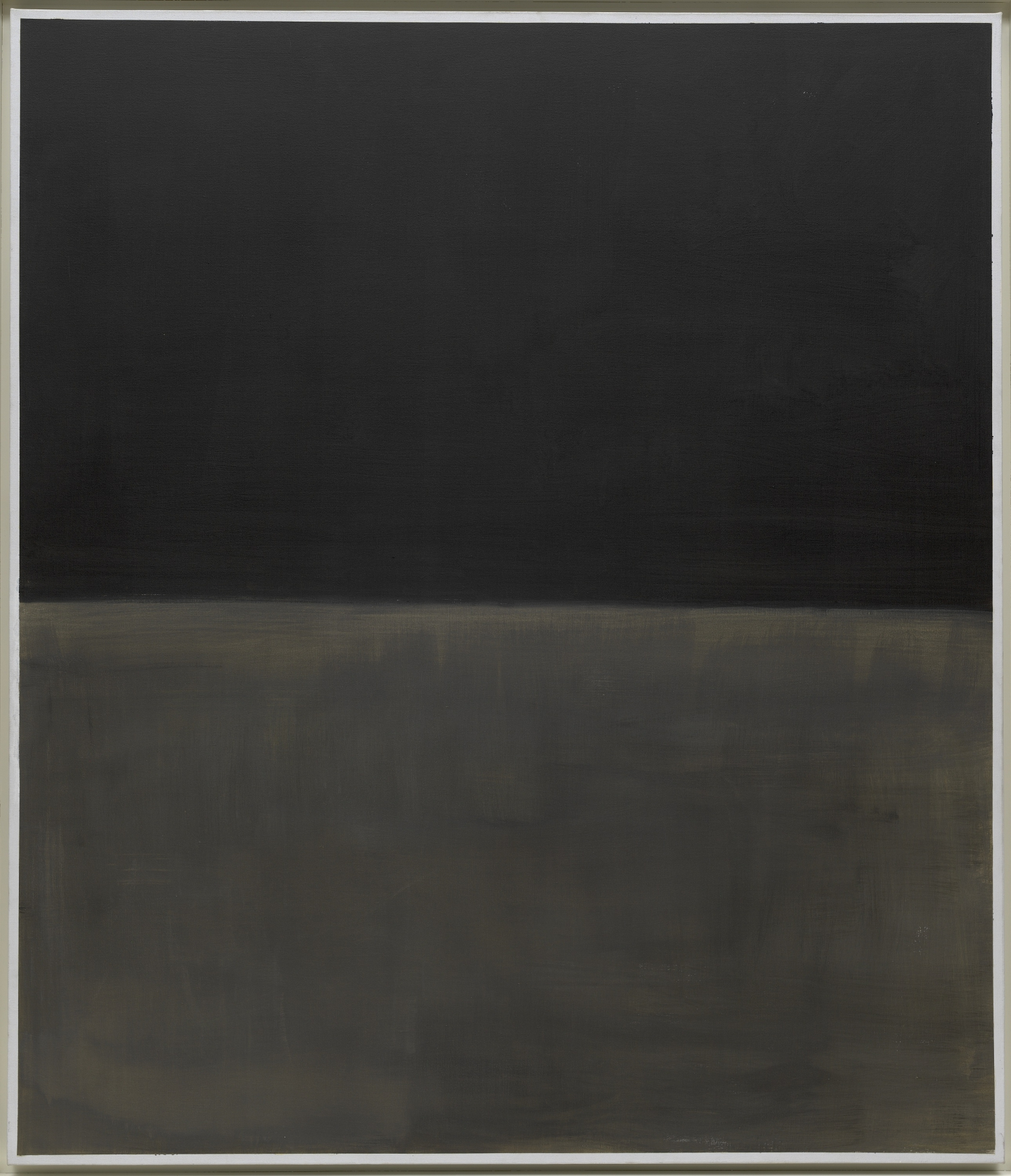 Mark Rothko (Marcus Rothkowitz; Dvinsk 1903-New York 1970) Senza titolo (Nero su grigio) 1969-1970
