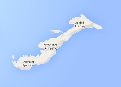 Amorgos mappa