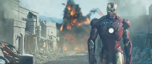 Base militare aerea Edwards - Iron Man
